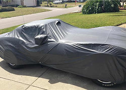 Best price for CarsCover Custom Fit C3 1968-1982 Corvette Car Cover Ironshield Leatherette All Weatherproof