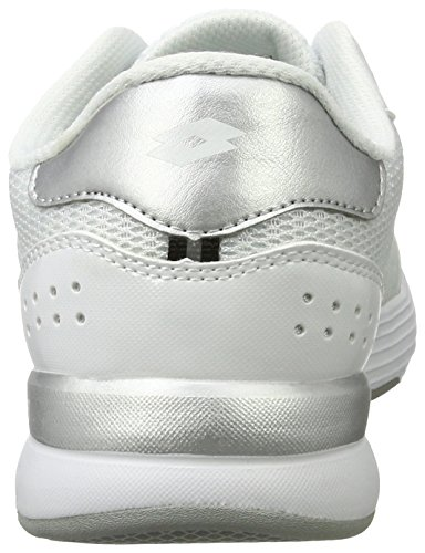 Lotto Dayride Ii Amf W, Zapatillas para Mujer Blanco (Wht/slv Mt)