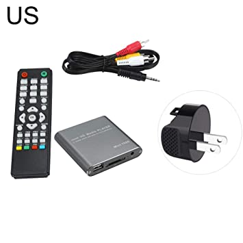 BVufg Mini HD 1080P USB Externo MKV Video Media Player ...