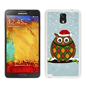Individualization Christmas Owls White Samsung Galaxy Note 3 Case 2