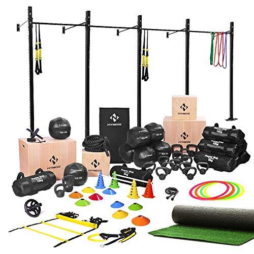 Kit Ct Para Treinos de Atletas Profissionais Natural Fitness Preto