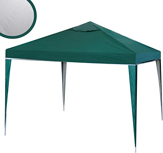 Ldk Garden 82371 - Mirador desmontable para playa, 300 x 300 x 240 cm, color verde: Amazon.es: Jardín