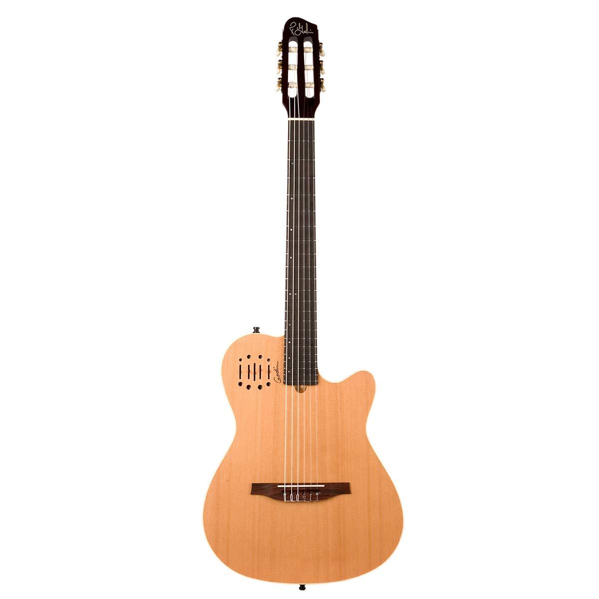 Godin Multiac Nylon Encore Acoustic Electric Classical Guitar, Natural
