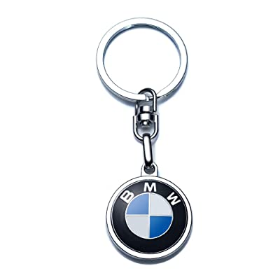 JIYUE Compatible for BMW Keychains 3D Car Logo Key Chain Key Ring Accessories,Suit for BMW 1 3 5 6 Series X5 X6 Z4 X1 X3 X7 7 Series Gift Present for Men and Woman (1pcs): Automotive