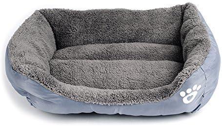 Cucha para perros, gatos y animales, sofá cama, con cojín, suave ...