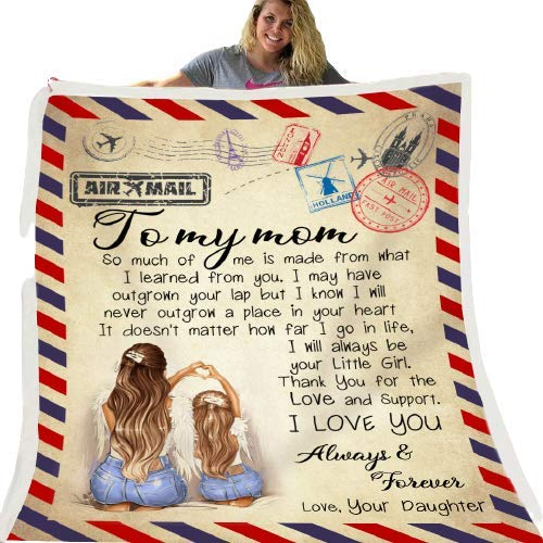 Letter printed throws