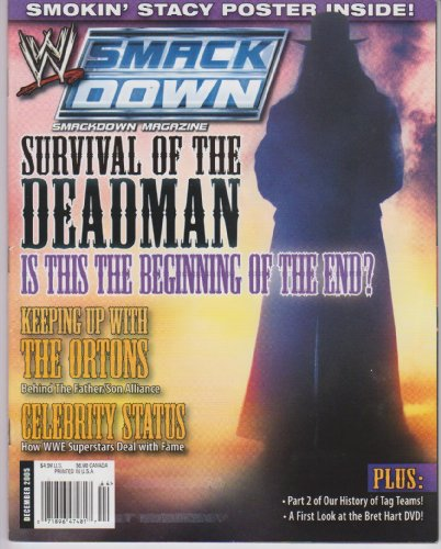 WWE Smackdown Magazine December 2005 ()