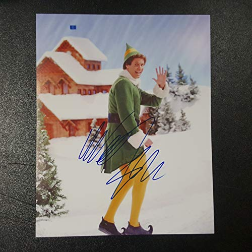 Will Ferrell - Autographed Signed 8x10 inch Photograph - ELF Movie Christmas