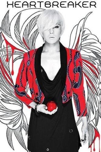 BIGBANG G-DRAGON [HEARTBREAKER] 1st Repackage Album CD+Photobook K-POP SEALED+Tracking Number