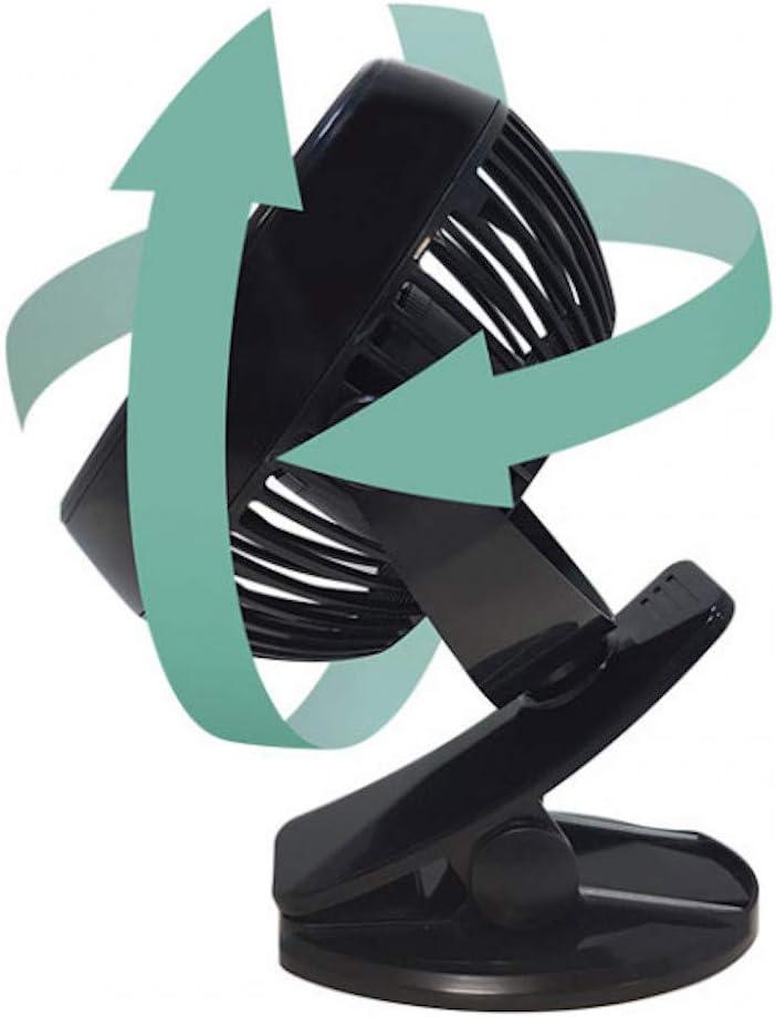 Starlyf/® Fast Fan Ventilateur Portable Sans Fil Rechargeable T/ête Pivotante 360/°