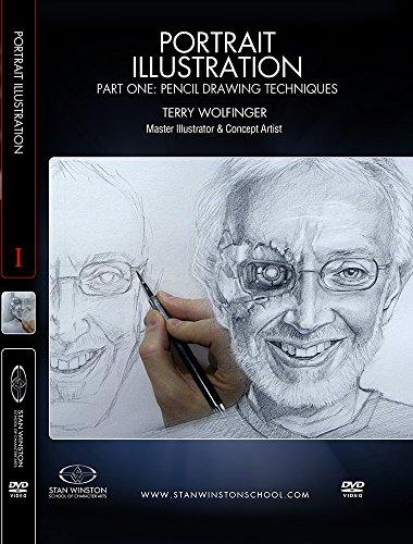 Illustration Portrait - Portrait Illustration Part 1: Pencil Drawing Techniques