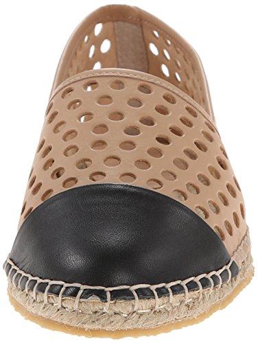 Loeffler Randall Women's Mara Espadrille Slip-On Buff/Black g64gJAJ
