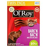 Ol' Roy Bark'n Bac'n Dog Treats, (Bark'n Bac'n, 50-Ounce) Review