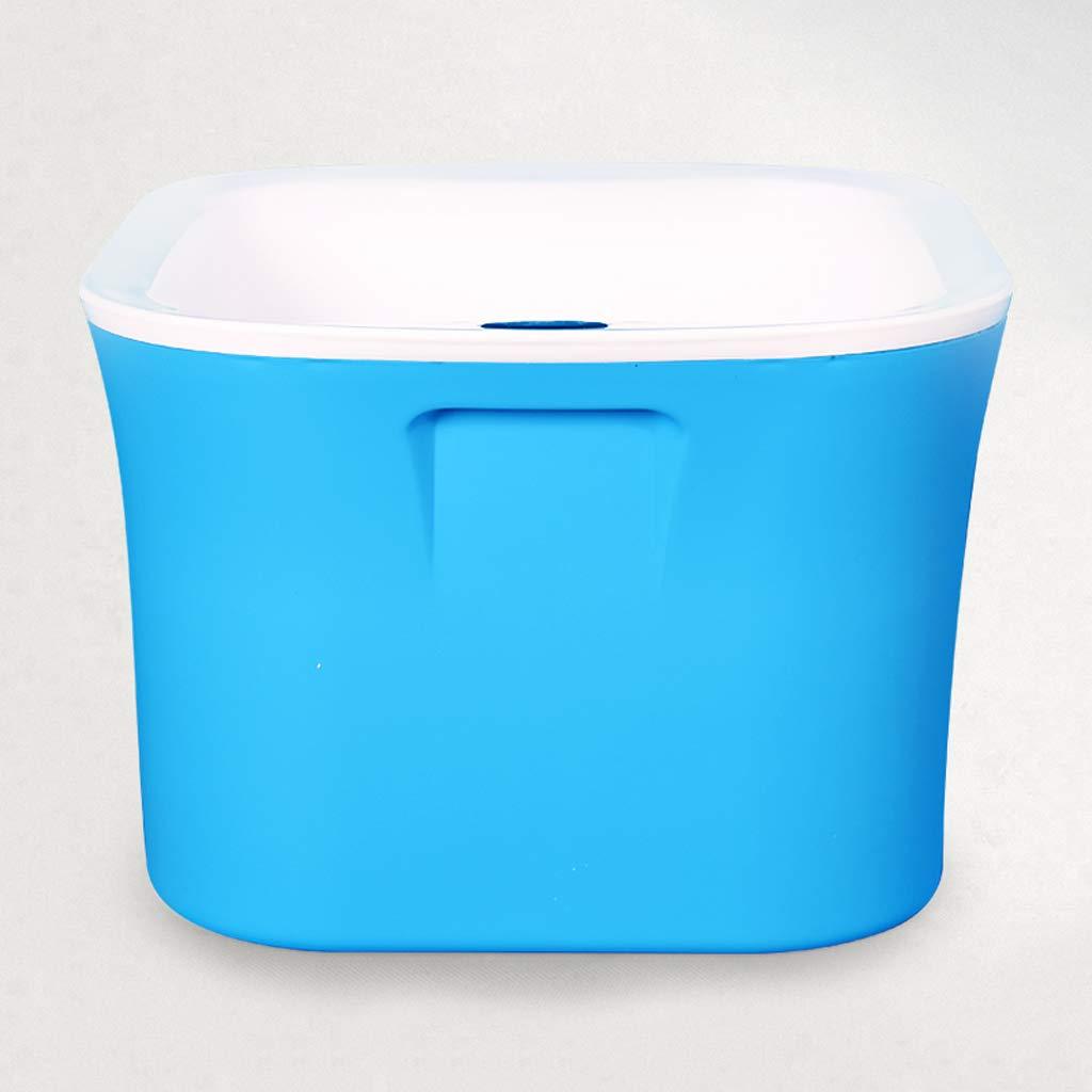 HJBH高品質PPプラスチックフットバス浸漬流域家庭用厚さ3層断熱材サイズ:長さ29CM*幅27CM*高さ23CM(青 青)/オレンジ/ライトシアン) B07MYLYKQ1 (色 (色 : 青) B07MYLYKQ1 青, タカキチョウ:f97ba3bc --- lembahbougenville.com