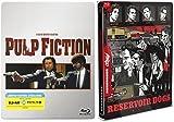 Mondo Steelbook RESERVOIR DOGS Exclusive & Pulp Fiction Limited Edition Steelbook [Blu-ray] Quentin Tarantino Set