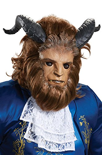 Disguise Men's Beast Ultra Prestige Mask Brown One Size ()