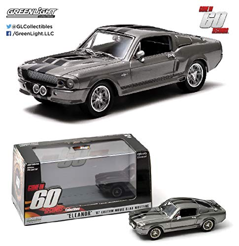 """Ford Mustang Shelby Gt500 1967 /""""ELEANOR GONE IN 60 SECONDS/"""" 1:64 Model"""