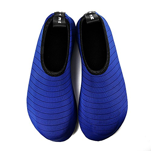 blue Dry Aqua Kids Beach Water Swim Mens Barefoot Womens Shoes Surf Quick and Socks Tw Exercise for Yoga T08ffqxw