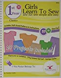 img - for Kids Can Sew  Girls Learn to Sew 1st Year Sewing Pattern Book Packet - Classic Clothing Styles book / textbook / text book