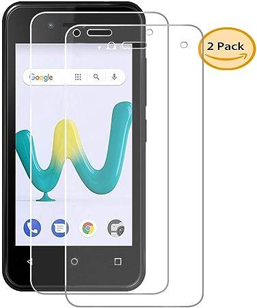 AQGG 2-Unidades Wiko Sunny 3 Mini Pantalla Premium Film Vidrio Templado Cristal Templado Protector de Pantalla para Wiko Sunny 3 Mini: Amazon.es: Electrónica