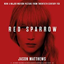 Red Sparrow Audiobook by Jason Matthews Narrated by Jeremy Bobb