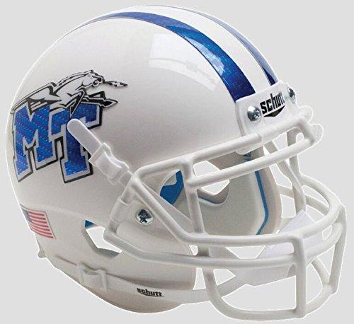 - Schutt NCAA Middle Tennessee State Blue Raiders Mini Authentic XP Football Helmet, Classic, Mini