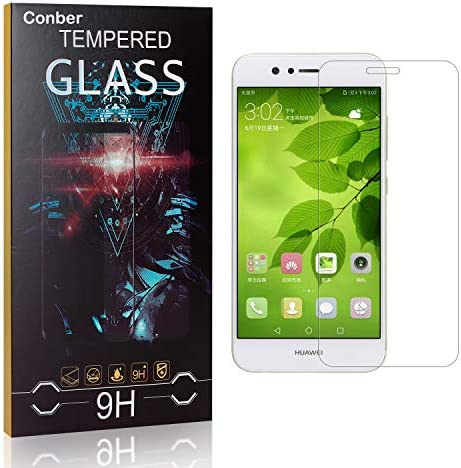 Conber [3 Stück] Displayschutzfolie kompatibel mit Huawei Nova 2, Panzerglas Schutzfolie für Huawei Nova 2 [9H Härte][Hüllenfreundlich]