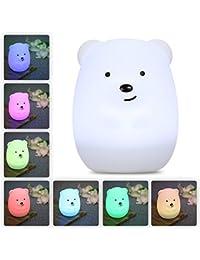 LED Nursery Night Lights for Kids: LumiPets Cute Animal...