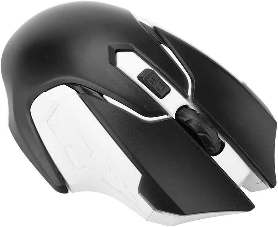 hongxinq 1200DPI Wireless Gaming Mouse Comfortable Grasp No Delay 2.4G Wireless Mouse