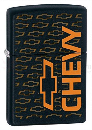 Zippo Limited Chevy Black Matte Zippo Lighter
