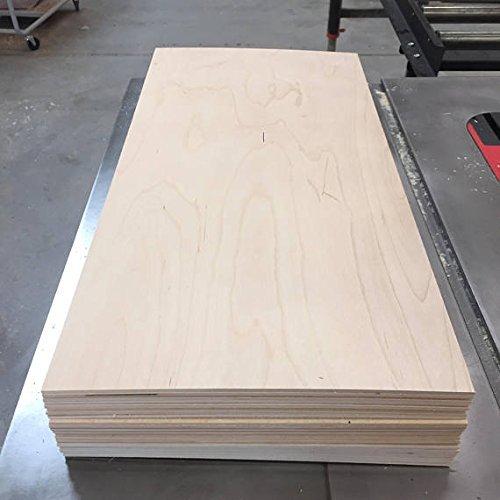 "5""x 7"" Baltic Birch Panels - 1/8"" thick (3mm)"