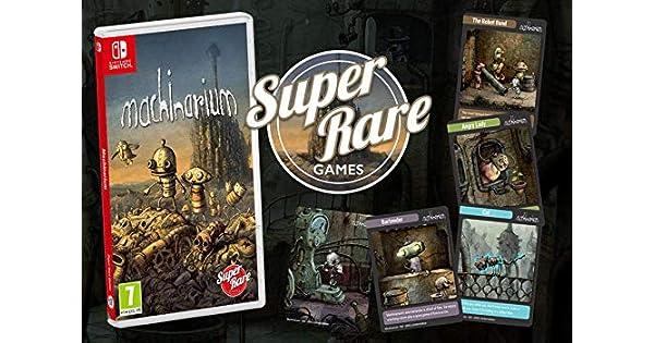 Amazon.com: Machinarium - Nintendo Switch (Super Rare Games ...