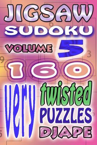 Jigsaw Sudoku very twisted puzzles