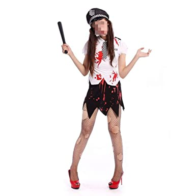 KODH Disfraz de Halloween for dama adulta Cosplay Falda dividida ...