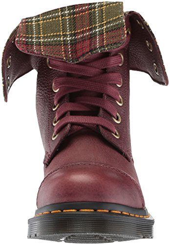 Women's Aimilita Boots Martens Grizzly Oxblood Black Red 600 Dr Ankle aUw65