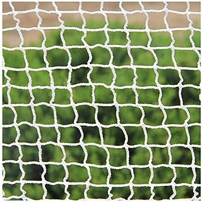 AEINNE Red Bebe,Red Cuerda Seguridad Blanca Huerto Cuerda Red Porteria de Deporte Futbol FúTbol Goal Nets Malla Negra Tenis Proteccion Escalera NiñOs Bebe Proteccion Gatos Balcones Escaleras: Amazon.es: Deportes y aire libre