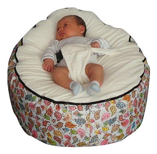 Amazon.com: Mama Baba bebé puf con relleno: Baby