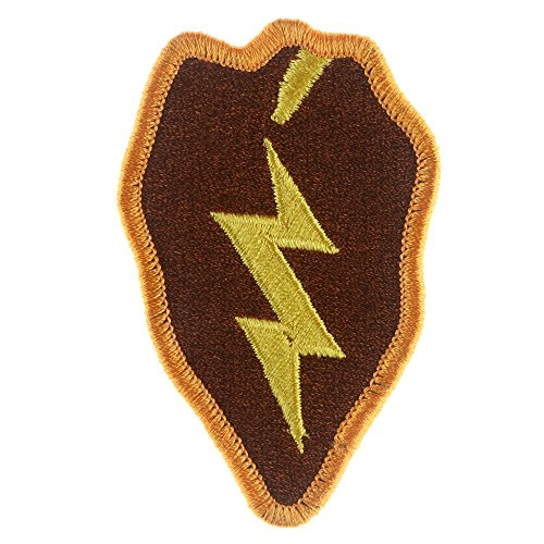 - LiZMS Iron Sew On Applique Patch : 25th Infantry Division United States (#88740)