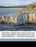 Oeuvres Nouv Éd, Revue Sur les Plus Anciennes Impressions et les Autographes Par Paul Mesnard, Jean Racine and Paul Mesnard, 1149497793