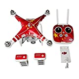 Ake Remote Control Sticker Waterproof Decal Protective Shell Cover Skin Wrap Kit for DJI Phantom 3 Vision -C01
