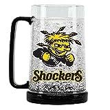 Duck House NCAA Wichita State Shockers 16oz Crystal Freezer Mug