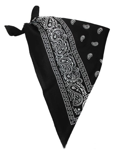 Ilovefancydress Boys' X1 Paisley Patterned Bandana Cowboy Bandanna Neckerchief Fancy Dress Wild West Scarf One Size (Wild West Fancy Dress)