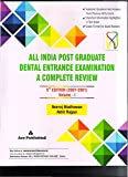 ALL INDIAPOST GRADUATE DENTAL ENTRANCE EXAMINATION A COMPLETE REVIEW 5ED (2001-2007) VOLUME 1