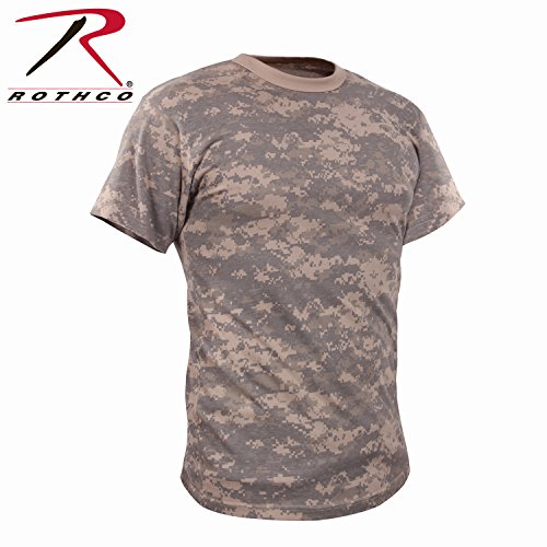Rothco Vintage T-Shirt, ACU Digital Camo, Medium Acu Digital Camouflage T-shirt