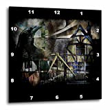 Cheap 3dRose dpp_21470_2 The Summoner Raven Crow Summoner Summon Dream Calling Caller of Dreams Dreamscape Fantasy Wall Clock, 13 by 13-Inch