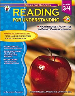 Book Reading for Understanding, Grades 3 - 4: High Interest Activities to Boost Comprehension (Skills for Success)