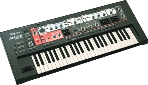 Roland SH-201 49-Key Music Keyboard Synthesizer
