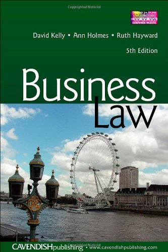 [PDF] Business Law, 5th Edition Free Download | Publisher : Routledge-Cavendish | Category : Business | ISBN 10 : 1859419623 | ISBN 13 : 9781859419625