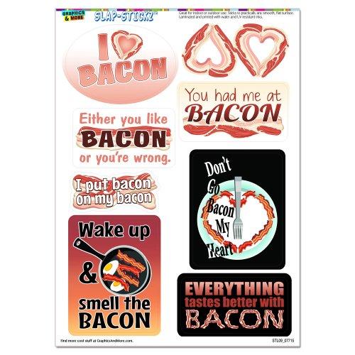 Bacon Fun SLAP STICKZ Scrapbook Stickers