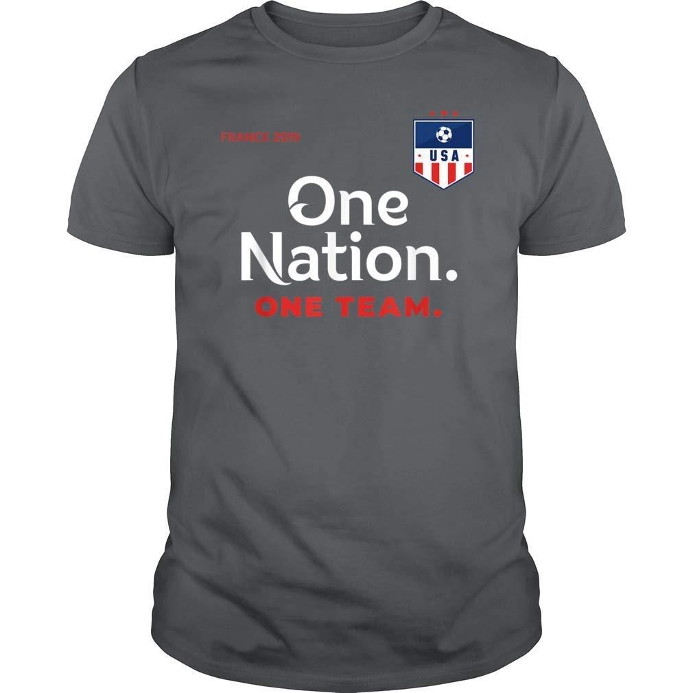 United States Soccer One Nation One Team Tshirt